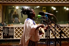 King Ayisoba at BBC Maida Vale studios