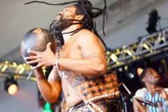 King Ayisoba at WOMAD Charlton Park